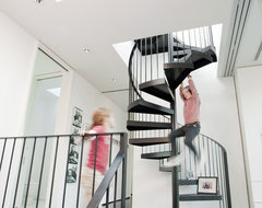 Claremont Residence contemporary-staircase