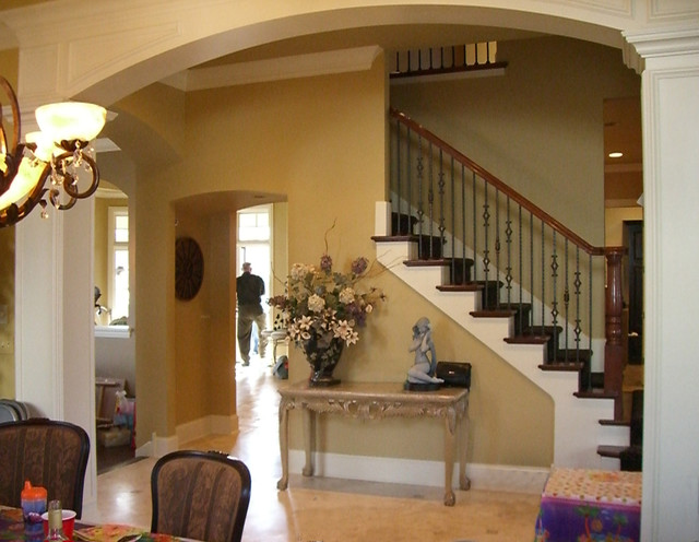 Clarendon Hills Residence traditional staircase