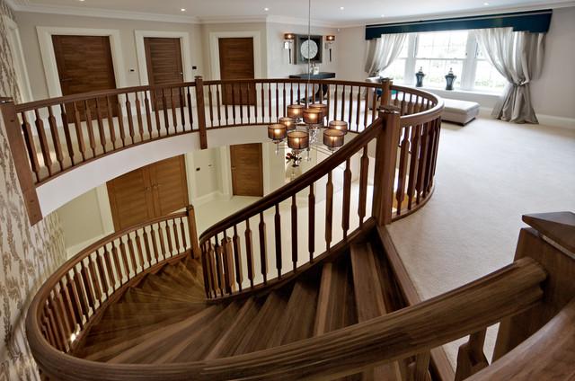 Clarendon House contemporary-staircase