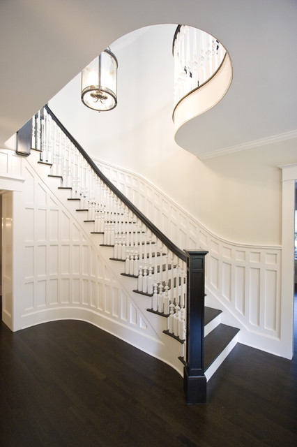 Clawson Architects Projects traditional-staircase