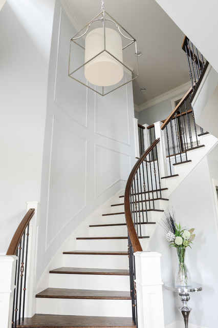 Cleverly Classic Transitional Staircase Vancouver
