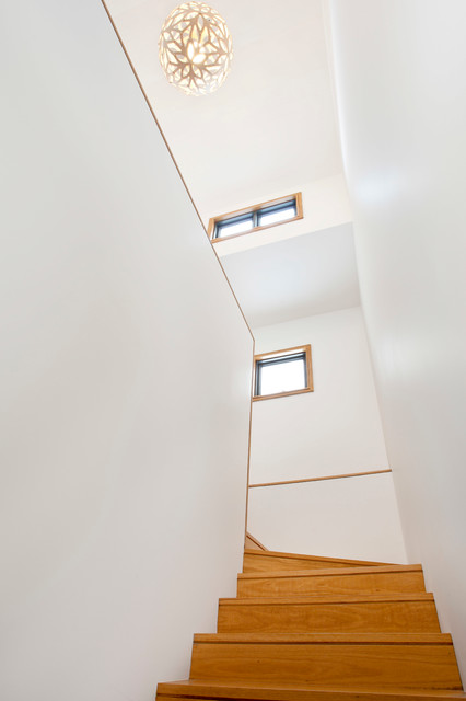 Clovelly House modern-staircase
