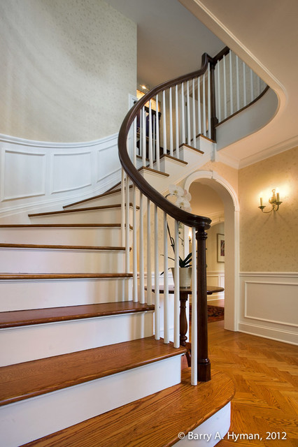 Colonial Revival Traditional Staircase Other By