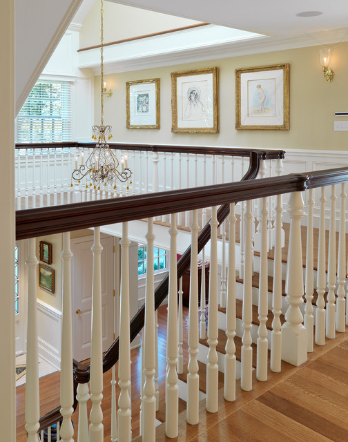 Traditional Staircase Boston By Jan Gleysteen Architects Inc