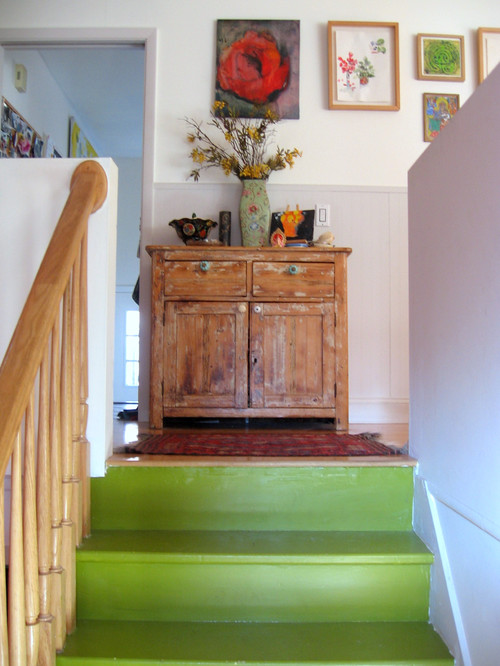 eclectic staircase how to tips advice