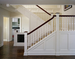 Conard Romano Architects traditional-staircase