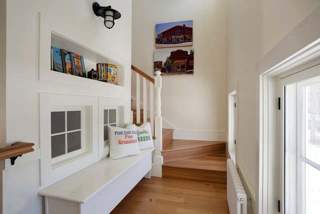 Concord Green Home beach-style-staircase