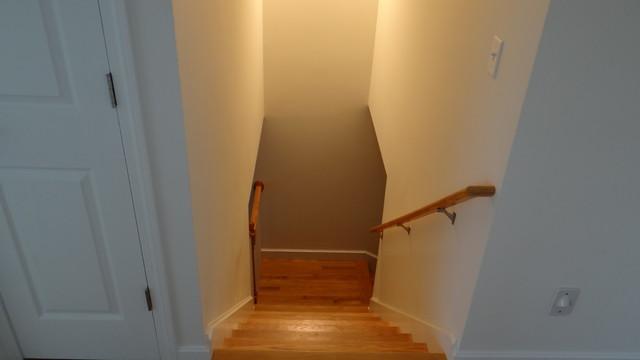 Condo Renovation traditional-staircase