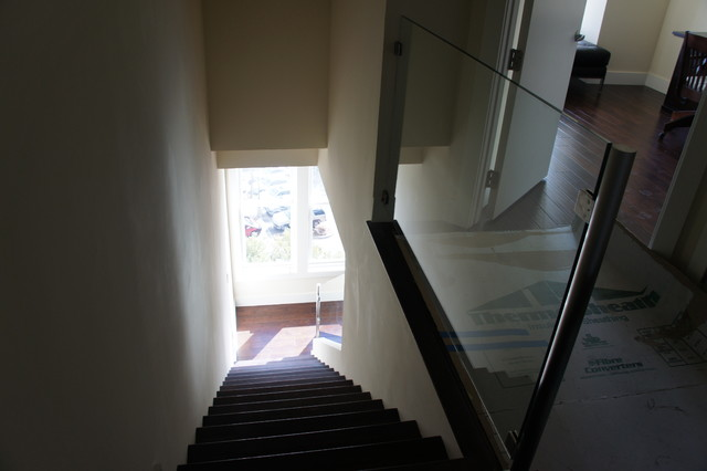 Condos at the Travis modern-staircase