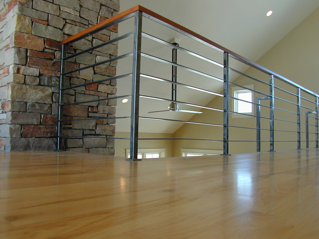 Contempoary Stair Railing modern-staircase