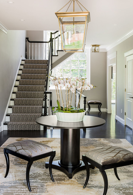 Contemporary Farmhouse traditional-staircase