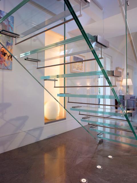 Contemporary contemporary-staircase