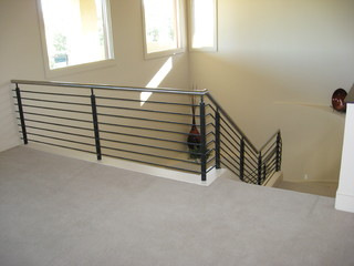 Contemporary/Modern Staircases - Contemporary - Staircase - las vegas - by JD Stairs Inc