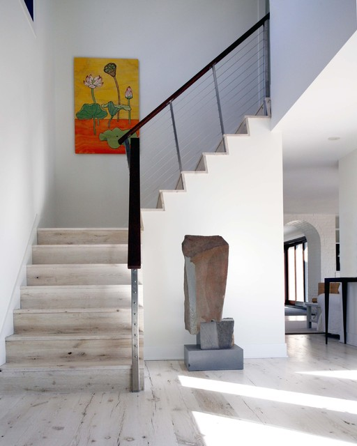 Beach House modern staircase