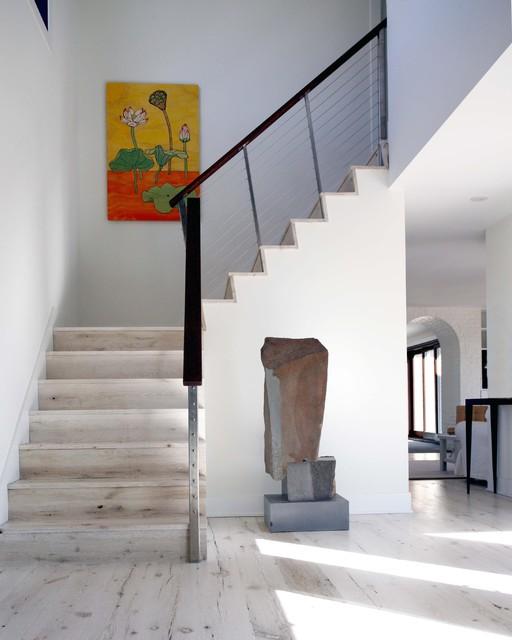 Beach House contemporary-staircase