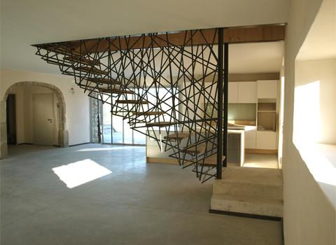 Crazy Staircase contemporary-staircase