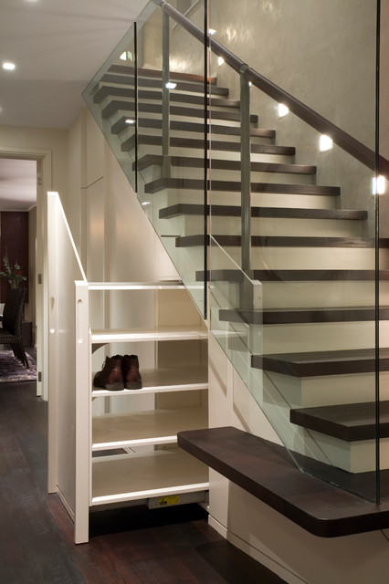 House in West London contemporary-staircase