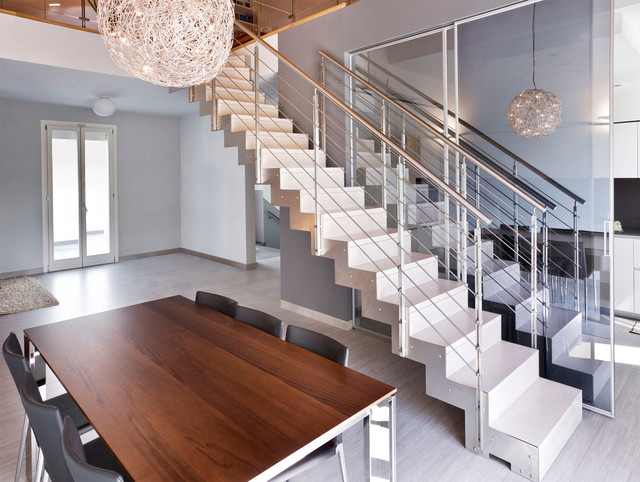 Cast modern staircase contemporary staircase san francisco cast modern staircase contemporary staircase ppazfo