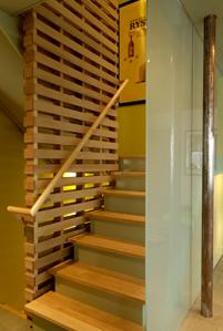 Donald Billinkoff Architects contemporary-staircase