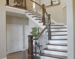 Jason Ball Interiors - Living Spaces contemporary staircase
