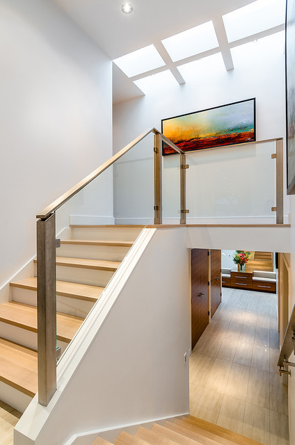Midland contemporary-staircase