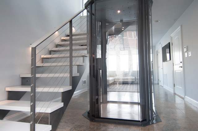 Visi 48 Glass Elevator By Nationwide Lifts Contemporary
