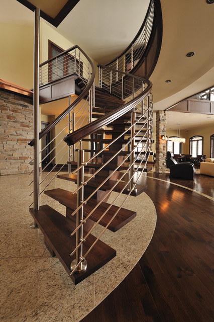 Contemporary staircase staircase