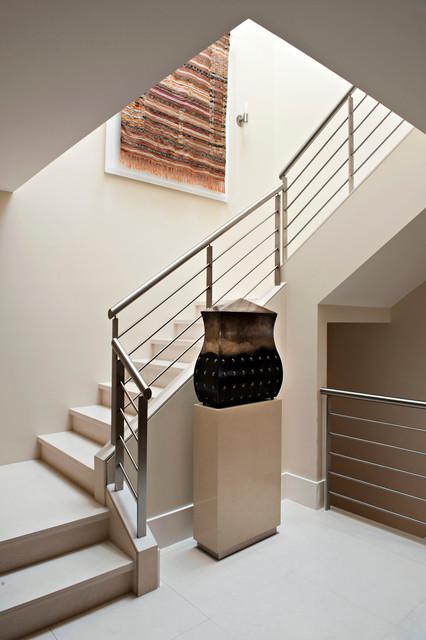 Contemporary Townhouse contemporary-staircase