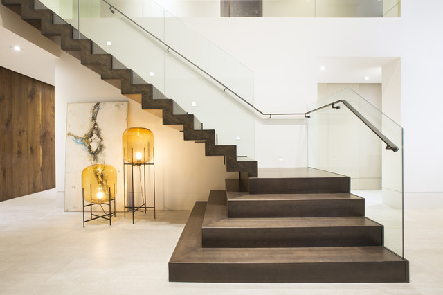 contemporary twilight contemporary staircase miami