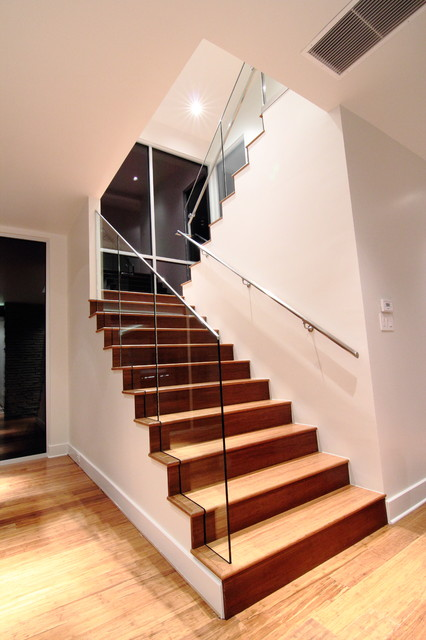 Coppell House modern-staircase