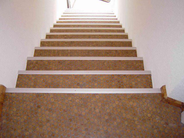 Bon Cork Mosaic Floor Tiles   Modern   Staircase   Hawaii   By Design ...