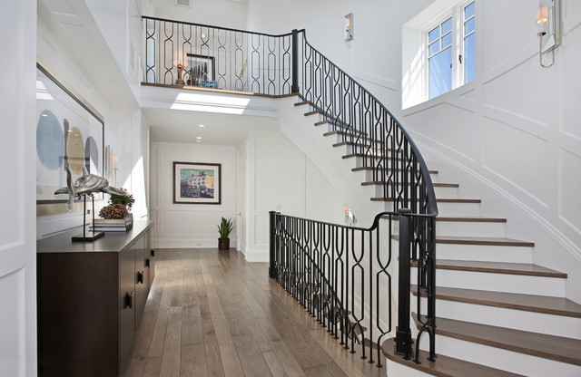 Corona Del Mar transitional-staircase
