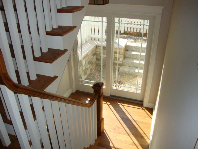 Cottages at the Pinehills traditional-staircase