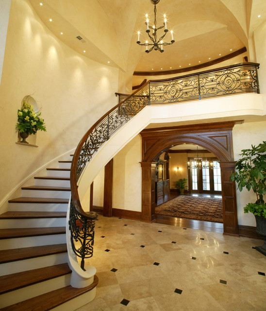 Country Estate II traditional staircase