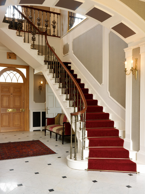 Country Home Traditional Staircase Other By Jamie