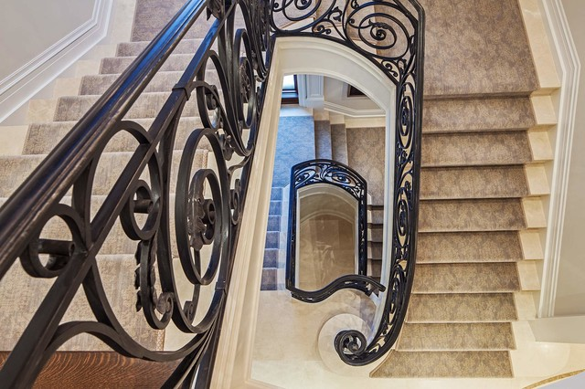 Country House 1 mediterranean-staircase