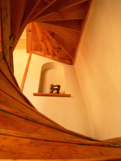 Country lane traditional staircase