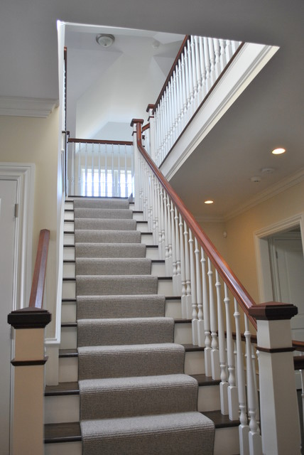 Cove Park Residence traditional staircase