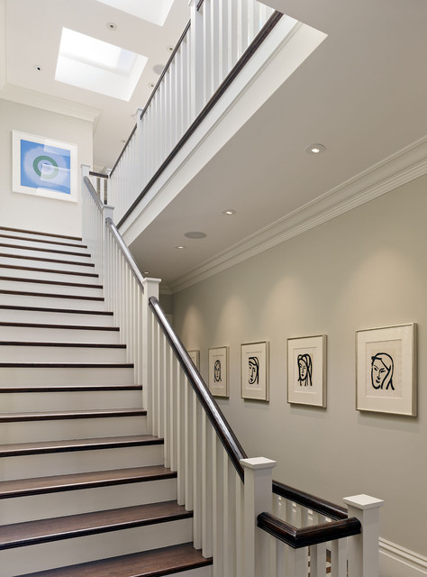 Cow Hollow Historic Home contemporary staircase