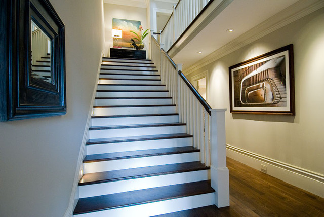 Cow Hollow Residence - Stair traditional-staircase