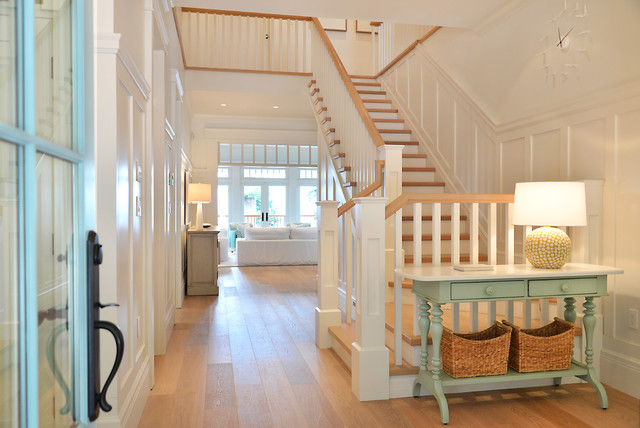 Craftsman Beach House Gibsons Bc Beach Style Staircase