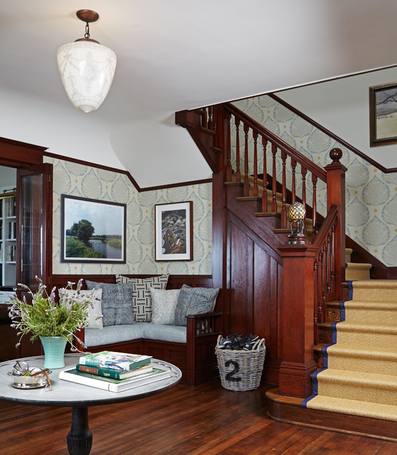 Luxe Family Home Santa Monica Transitional Staircase