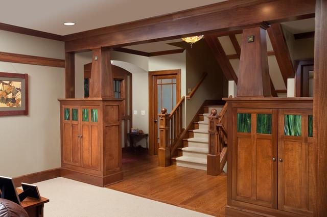 Craftsman Staircase By Melaragno Design Company Llc