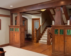 Craftsman Home traditional staircase