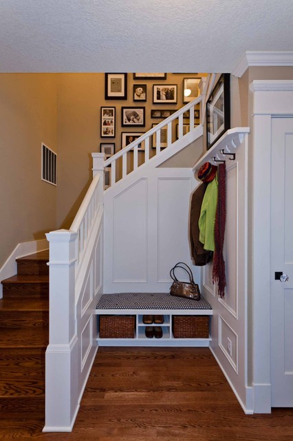 Craftsman Remodel traditional-staircase