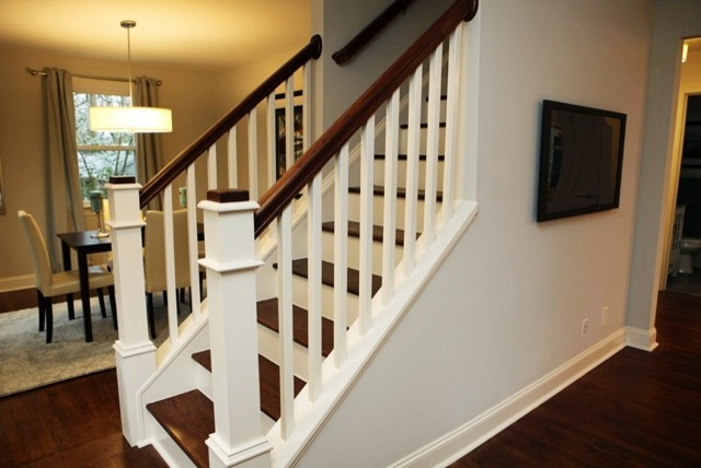 Lorna 1950s Cape Cod Traditional Staircase