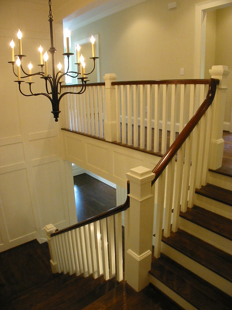 Craftsman Staircase traditional staircase