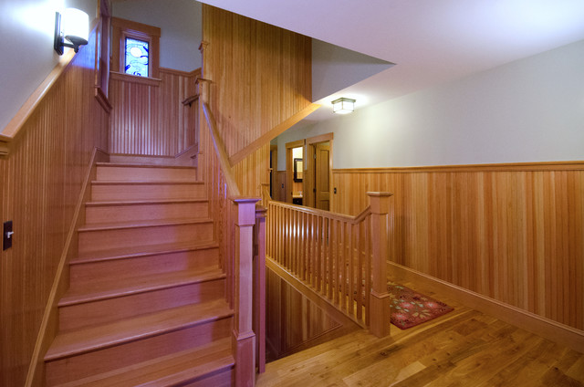 Craftsman Style Craftsman Staircase Boston By Old