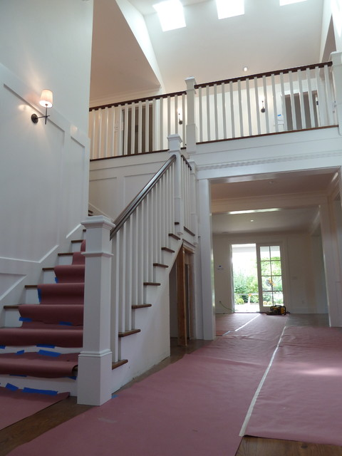 Craftsman stair railings contractors pictures to pin on - Interior stair railing contractors ...