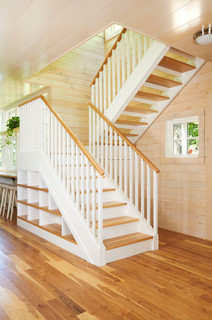 staircase by calgary designbuild firms one house green